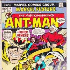 Cómics: MARVEL FEATURE 10# 1973 MARVEL COMICS ASTONISHING ANT-MAN . Lote 88943800