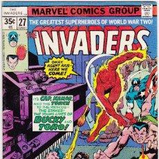 Cómics: THE INVADERS COMIC BOOK #27, MARVEL COMICS 1977 . Lote 88946520