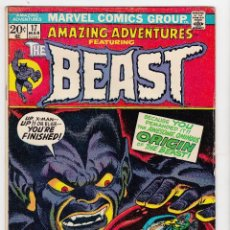 Cómics: 1972 MARVEL AMAZING ADVENTURES THE BEAST #17 . Lote 89101268