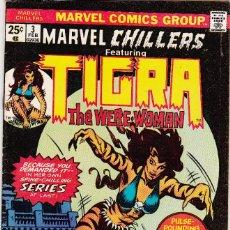 Cómics: (1975) MARVEL CHILLERS FEATURING TIGRA #3 - ORIGIN .. Lote 89117240