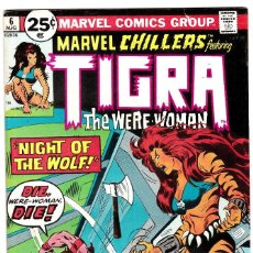 Cómics: MARVEL CHILLERS #6 - FEATURING TIGRA THE WERE-WOMAN - 1976. Lote 89119824