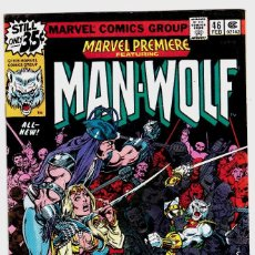 Cómics: MARVEL PREMIERE 46 1978 VF NM MAN-WOLF . Lote 89120360