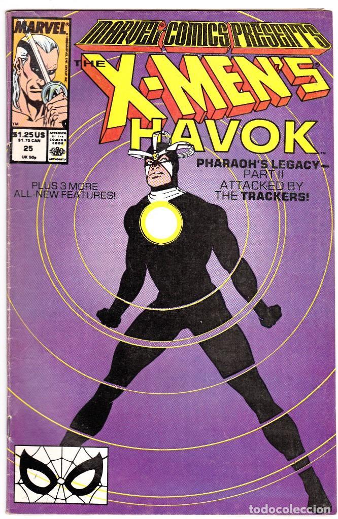 MARVEL COMICS PRESENTS #25 1989 HAVOK X-MEN BLACK PANTHER NTH MAN (Tebeos y Comics - Comics Lengua Extranjera - Comics USA)