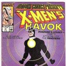 Cómics: MARVEL COMICS PRESENTS #25 1989 HAVOK X-MEN BLACK PANTHER NTH MAN. Lote 89177092