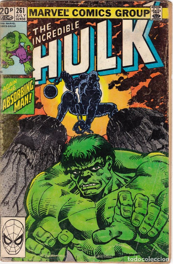 THE INCREDIBLE HULK #261 1981 MARVEL COMICS (Tebeos y Comics - Comics Lengua Extranjera - Comics USA)
