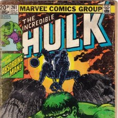 Cómics: THE INCREDIBLE HULK #261 1981 MARVEL COMICS . Lote 89178812