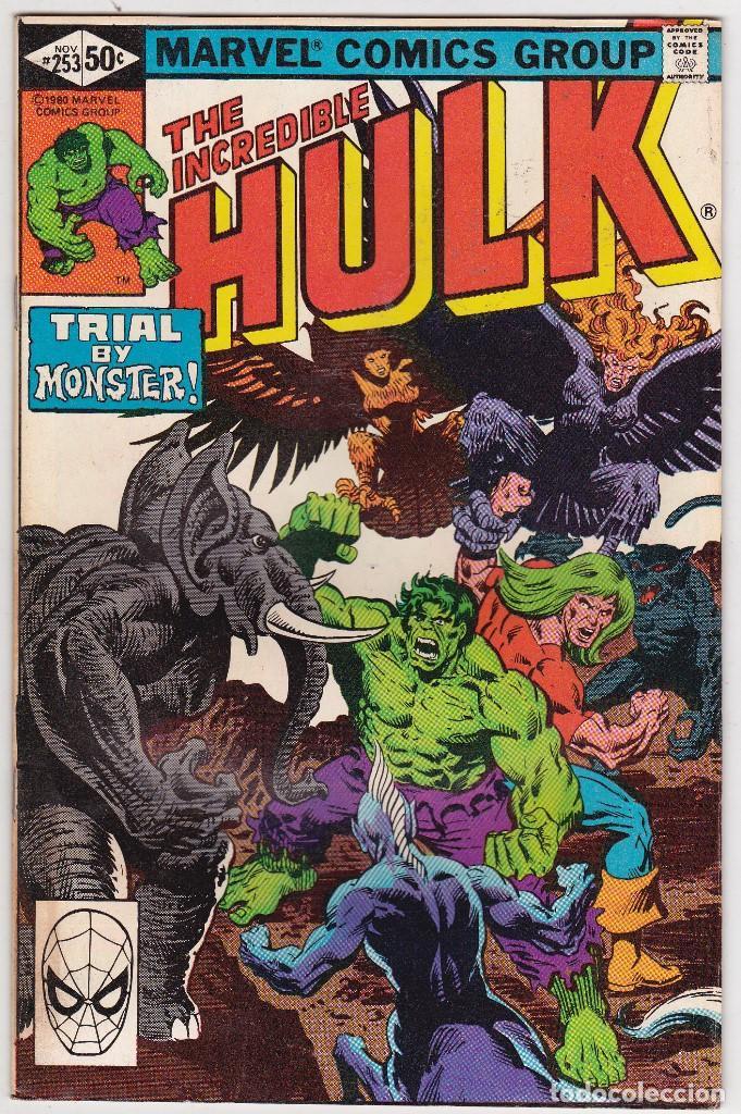 1975 MARVEL VOL. 1 #253 THE INCREDIBLE HULK (Tebeos y Comics - Comics Lengua Extranjera - Comics USA)