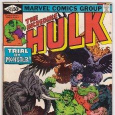 Cómics: 1975 MARVEL VOL. 1 #253 THE INCREDIBLE HULK . Lote 89222116