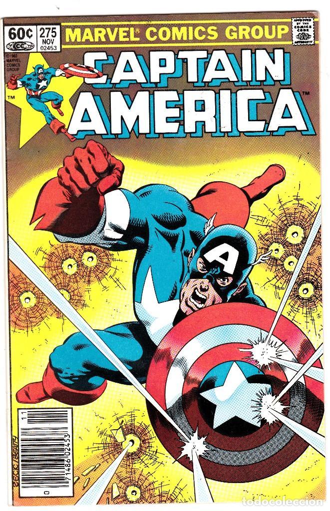 CAPTAIN AMERICA #275 1982- 1ST BARON ZEMO II. (Tebeos y Comics - Comics Lengua Extranjera - Comics USA)
