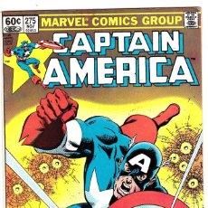 Cómics: CAPTAIN AMERICA #275 1982- 1ST BARON ZEMO II.. Lote 89222284