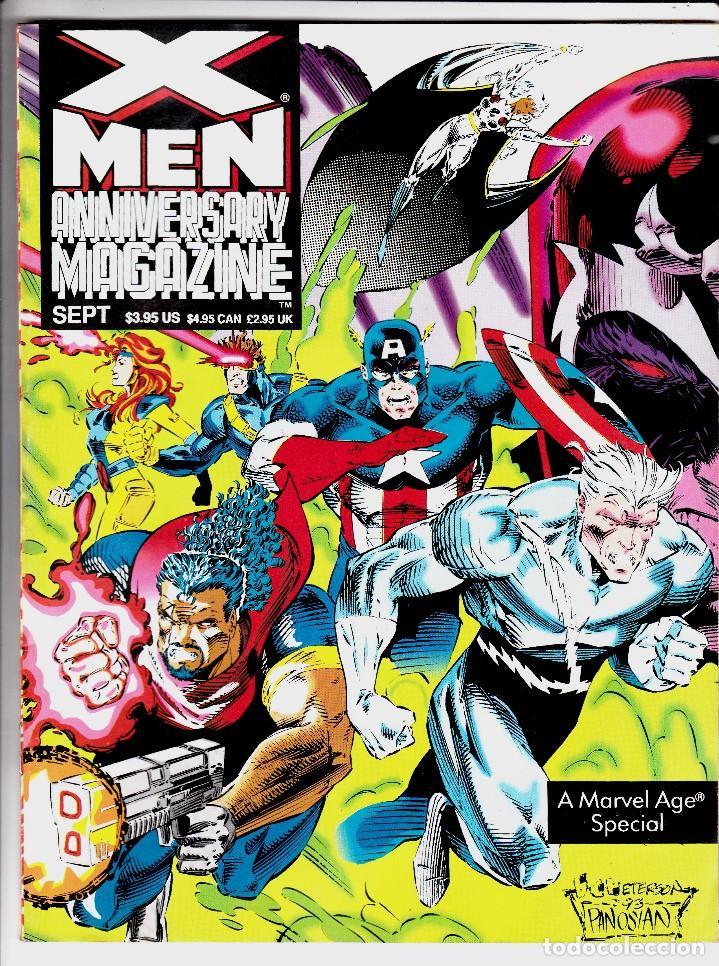 X-MEN ANNIVERSARY MAGAZINE (1993) #1 LOW GRADE (Tebeos y Comics - Comics Lengua Extranjera - Comics USA)