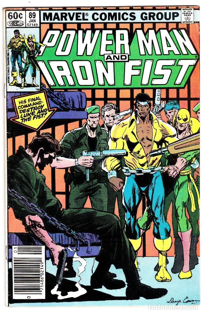 POWER MAN AND IRON FIST #89 NEAR MINT 1983 (1ST SERIES 1972) (Tebeos y Comics - Comics Lengua Extranjera - Comics USA)