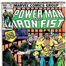 Cómics: POWER MAN AND IRON FIST #89 NEAR MINT 1983 (1ST SERIES 1972) . Lote 89340808