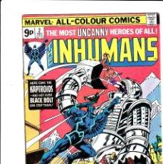 Cómics: THE INHUMANS COMIC BOOK #2, MARVEL COMICS 1975 . Lote 89343180