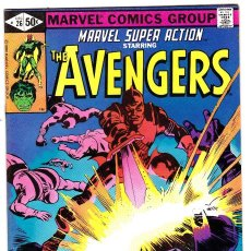 Cómics: MARVEL SUPER ACTION STARRING THE AVENGERS - VOL 1 - NO 26 - DATE 12/1980 . Lote 89393952