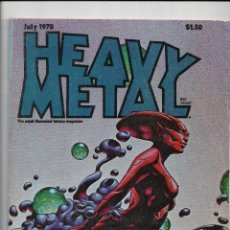 Cómics: HEAVY METAL VOL. II, Nº 3 -EN INGLÉS- CON BILAL,CORBEN,VOSS,DRUILLET..... 1978. Lote 133066235
