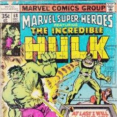 Cómics: MARVEL SUPER-HEROES # 68 (1977) HULK . Lote 89471212