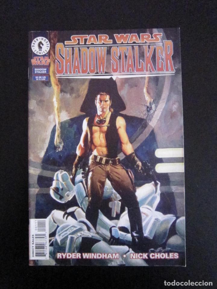 STAR WARS: SHADOW STALKER #ESPECIAL. EDICIÓN ORIGINAL DARK HORSE (U.S.A.) (Tebeos y Comics - Comics Lengua Extranjera - Comics USA)
