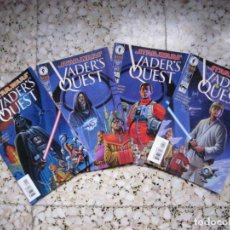 Cómics: STAR WARS: VADER´S QUEST #1 AL #4. EDICIÓN ORIGINAL DARK HORSE. Lote 89496076