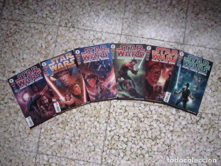 STAR WARS: DARK FORCE RISING #1 AL #6. EDICIÓN ORIGINAL DARK HORSE (Tebeos y Comics - Comics Lengua Extranjera - Comics USA)