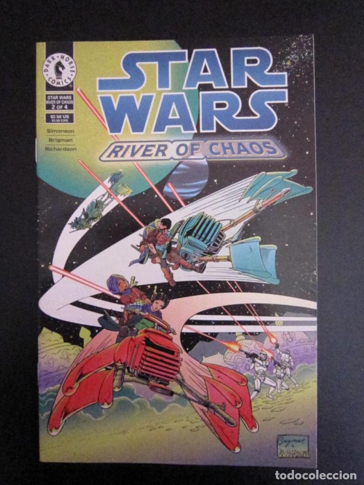 STAR WARS: RIVER OF CHAOS #2. EDICIÓN ORIGINAL DARK HORSE (Tebeos y Comics - Comics Lengua Extranjera - Comics USA)