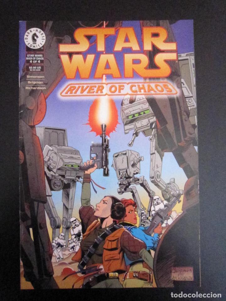 STAR WARS: RIVER OF CHAOS #4. EDICIÓN ORIGINAL DARK HORSE (Tebeos y Comics - Comics Lengua Extranjera - Comics USA)