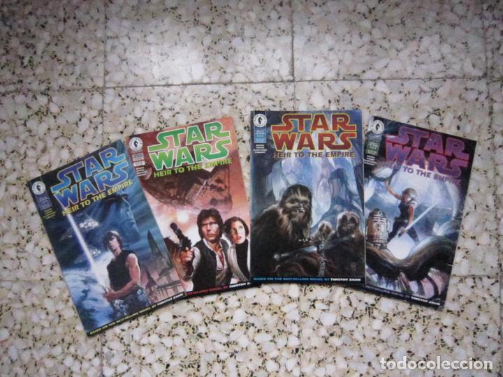 STAR WARS: HEIR TO THE EMPIRE #1 AL #4. EDICIÓN ORIGINAL DARK HORSE (Tebeos y Comics - Comics Lengua Extranjera - Comics USA)