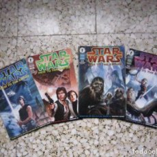 Cómics: STAR WARS: HEIR TO THE EMPIRE #1 AL #4. EDICIÓN ORIGINAL DARK HORSE. Lote 89530676