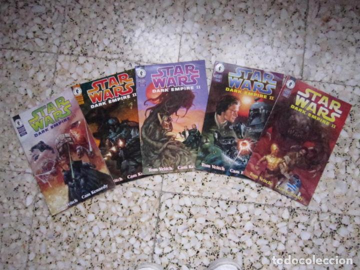 STAR WARS: DARK EMPIRE II #1 AL #5. EDICIÓN ORIGINAL DARK HORSE (Tebeos y Comics - Comics Lengua Extranjera - Comics USA)