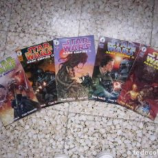 Cómics: STAR WARS: DARK EMPIRE II #1 AL #5. EDICIÓN ORIGINAL DARK HORSE. Lote 89530704