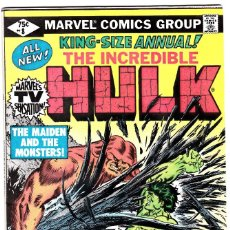 Cómics: THE INCREDIBLE HULK ANNUAL #8 (DEC 1979, MARVEL) . Lote 89533016