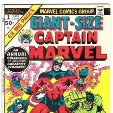 Cómics: GIANT SIZE CAPTAIN MARVEL (1975) #1 . Lote 89712432