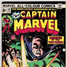 Cómics: CAPTAIN MARVEL (1968 1ST SERIES MARVEL) #36 . Lote 89713636
