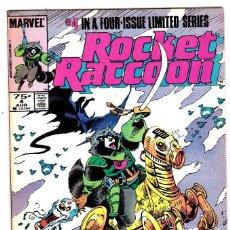 Cómics: ROCKET RACCOON COMIC BOOK #2, MARVEL 1985 VERY FINE+ GUARDIANS OF THE GALAXY. Lote 89805996
