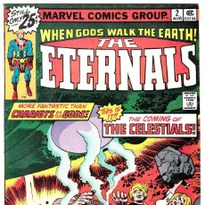 Cómics: EW LISTING THE ETERNALS #2 (AUG 1976, MARVEL) 1ST CELESTIALS . Lote 89807048