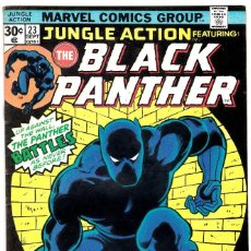Cómics: JUNGLE ACTION #23 SEPTEMBER 1976 FEATURING THE BLACK PANTHER MARVEL. Lote 89807220