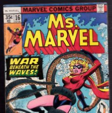 Cómics: . MARVEL #16 (APR 1978, MARVEL) 1ST CAMEO APPEARANCE OF MYSTIQUE . Lote 89882204