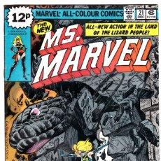 Cómics: . MS .MARVEL #21(DEC 1978, MARVEL) . Lote 89893060
