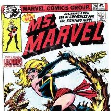 Cómics: . MS .MARVEL #20 (OCT 1978, MARVEL) . Lote 89895252