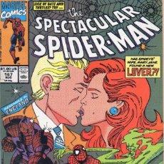 Cómics: COMIC MARVEL USA 1990 SPECTACULAR SPIDERMAN 167 EXCELENTE ESTADO (GERRY CONWAY-SAL BUSCEMA). Lote 90042476