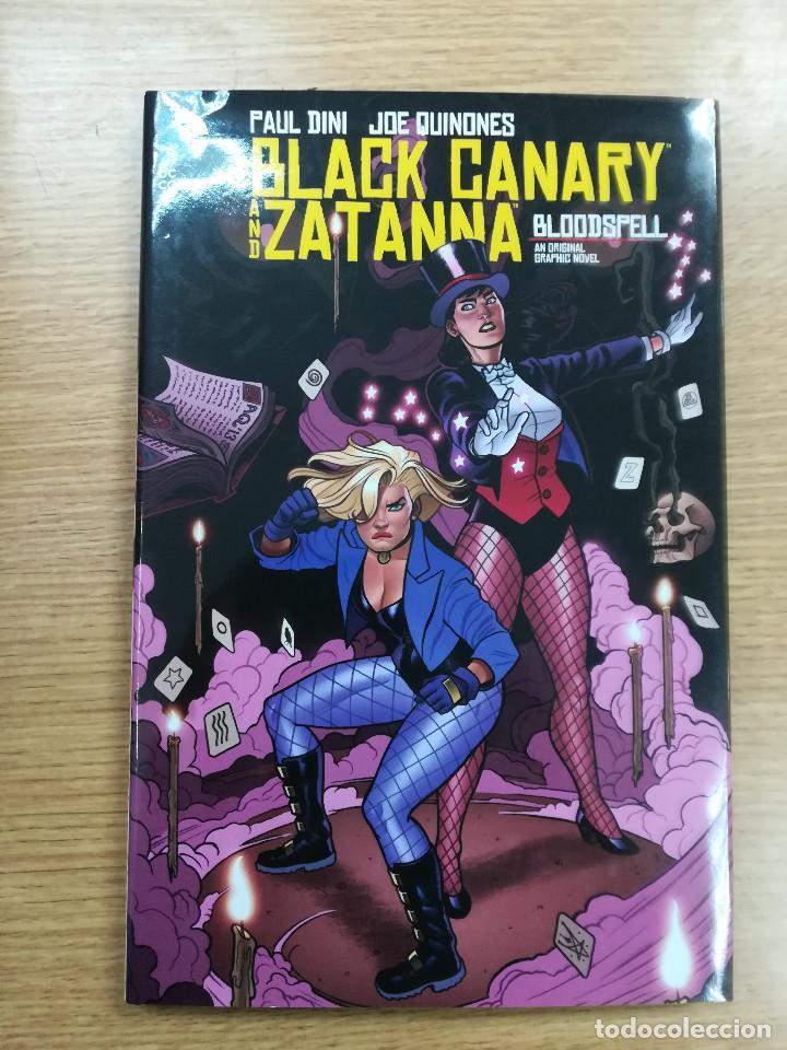BLACK CANARY AND ZATANNA BLOODSPELL HC (Tebeos y Comics - Comics Lengua Extranjera - Comics USA)