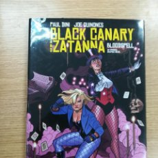 Cómics: BLACK CANARY AND ZATANNA BLOODSPELL HC. Lote 90086336