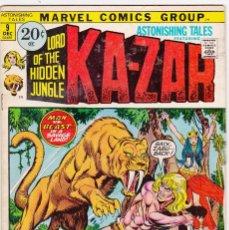 Cómics: KA-ZAR #9 (1971) MARVEL. Lote 90238060