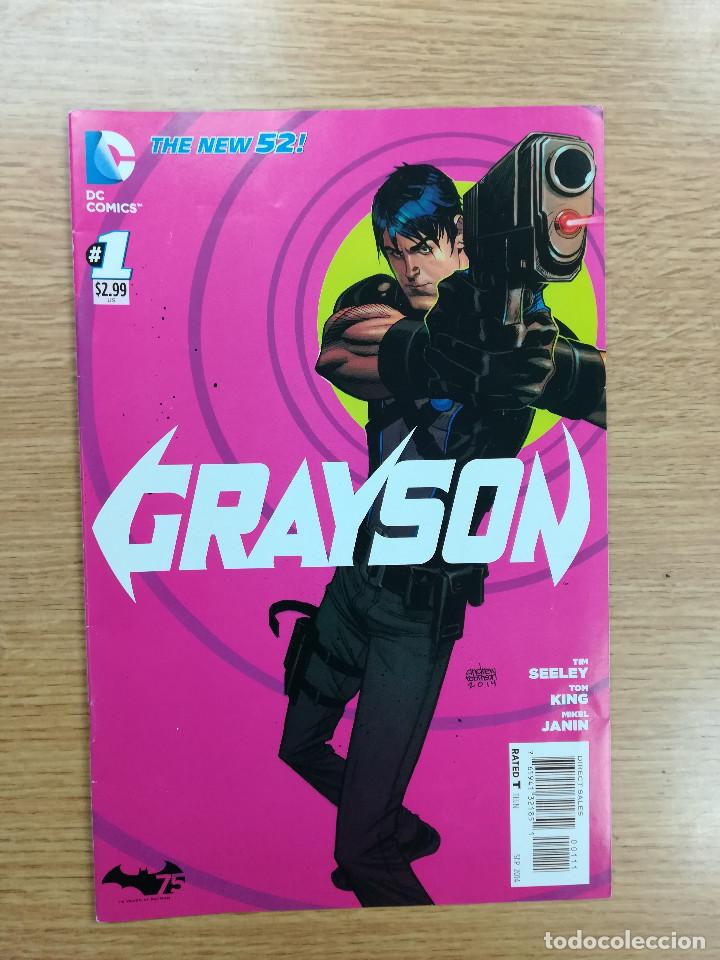 GRAYSON (2014) #1 (Tebeos y Comics - Comics Lengua Extranjera - Comics USA)