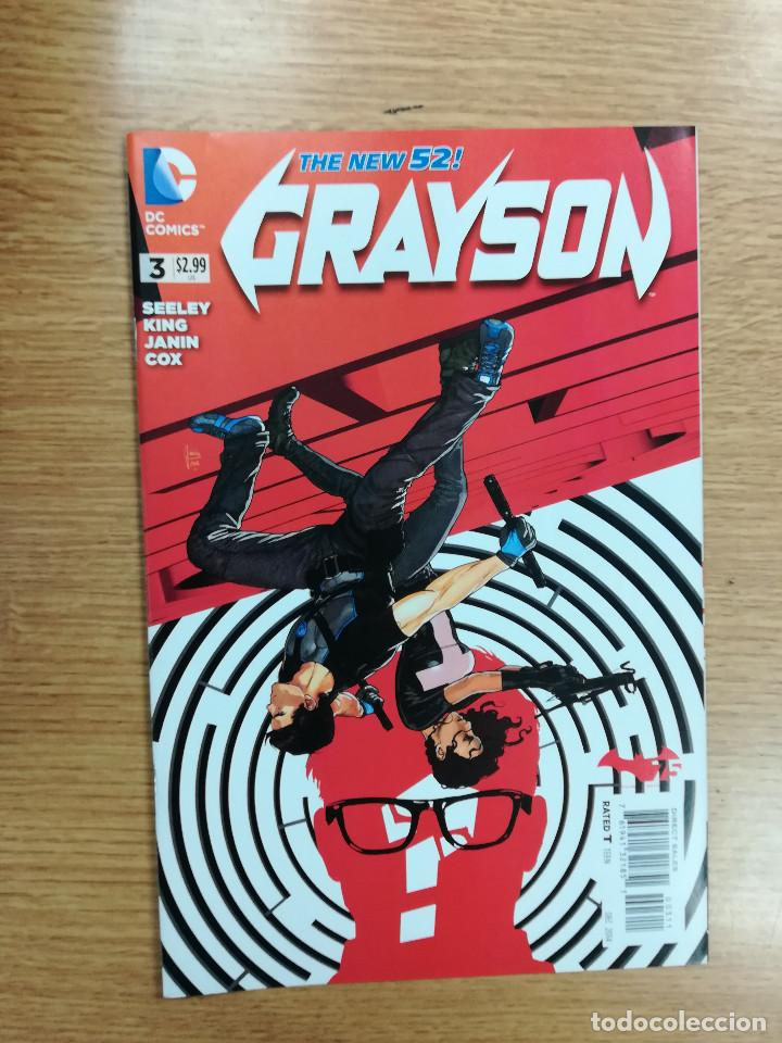 GRAYSON (2014) #3 (Tebeos y Comics - Comics Lengua Extranjera - Comics USA)