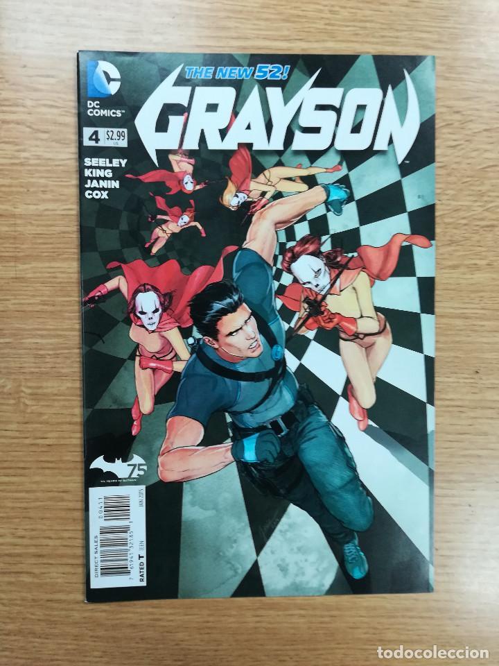 GRAYSON (2014) #4 (Tebeos y Comics - Comics Lengua Extranjera - Comics USA)