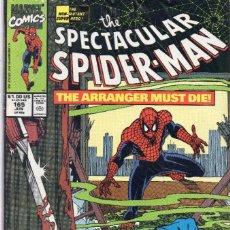 Cómics: COMIC MARVEL USA 1990 SPECTACULAR SPIDERMAN 165 EXCELENTE ESTADO (GERRY CONWAY - SAL BUSCEMA). Lote 90440289