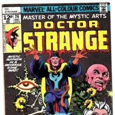 Fumetti: DOCTOR STRANGE #26 1974 MARVEL COMICS DR MASTER OF THE MYSTIC ARTS . Lote 90470759
