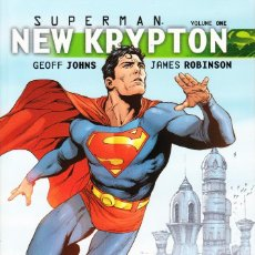 Cómics: SUPERMAN: NEW KRYPTON VOLUME ONE (DC,2010) - GEOFF JOHNS - GARY FRANK. Lote 90513120
