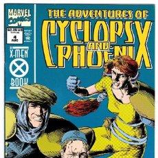 Cómics: ADVENTURES OF CYCLOPS AND PHOENIX 1994 SERIES # 4 . Lote 90556005